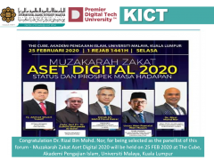 Muzakarah Zakat Aset Digital 2020