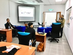 Honorable IIUM President's visit to INHART Laboratory