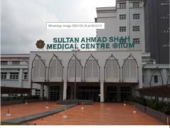 IIUMMC kini dikenali sebagai Sultan Ahmad Shah Medical Centre @IIUM
