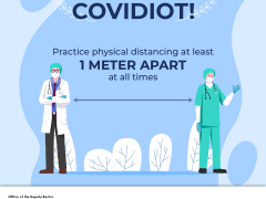 TIPS 1 - PRACTISE PHYSICAL DISTANCING
