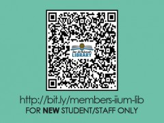 IIUM LIBRARY :: Library Membership - Online Application (FOR NEW STUDENT/STAFF ONLY)