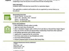 ANNOUNCEMENT ON SLAB / SLAI / SK / PD 2021