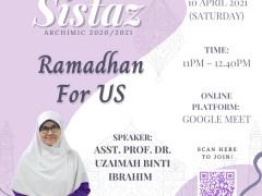 Sistaz: Ramadhan for US