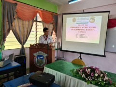 KLM's School Outreach Programme - Visit to SK Kampong Bahru, Lenga