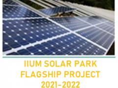 IIUM SOLAR PARK AS FLAGSHIP PROJECT 2021-2022