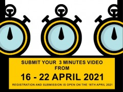 KOE 3 MINUTES THESIS COMPETITION 2021