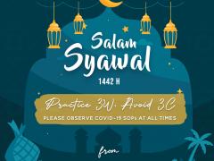 Eid Mubarak 1442H