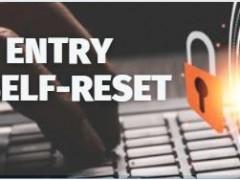 CAM/RESULT ENTRY PASSWORD SELF-RESET FACILITY