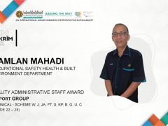 Congratulation to Bro. Ramlan Mahadi