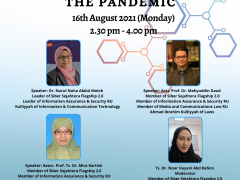 Addressing The Challenges In The Cyber World During The Pandemic