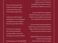 """Rakyat Terbelenggu: Pesanku untuk Warga UIAM"""