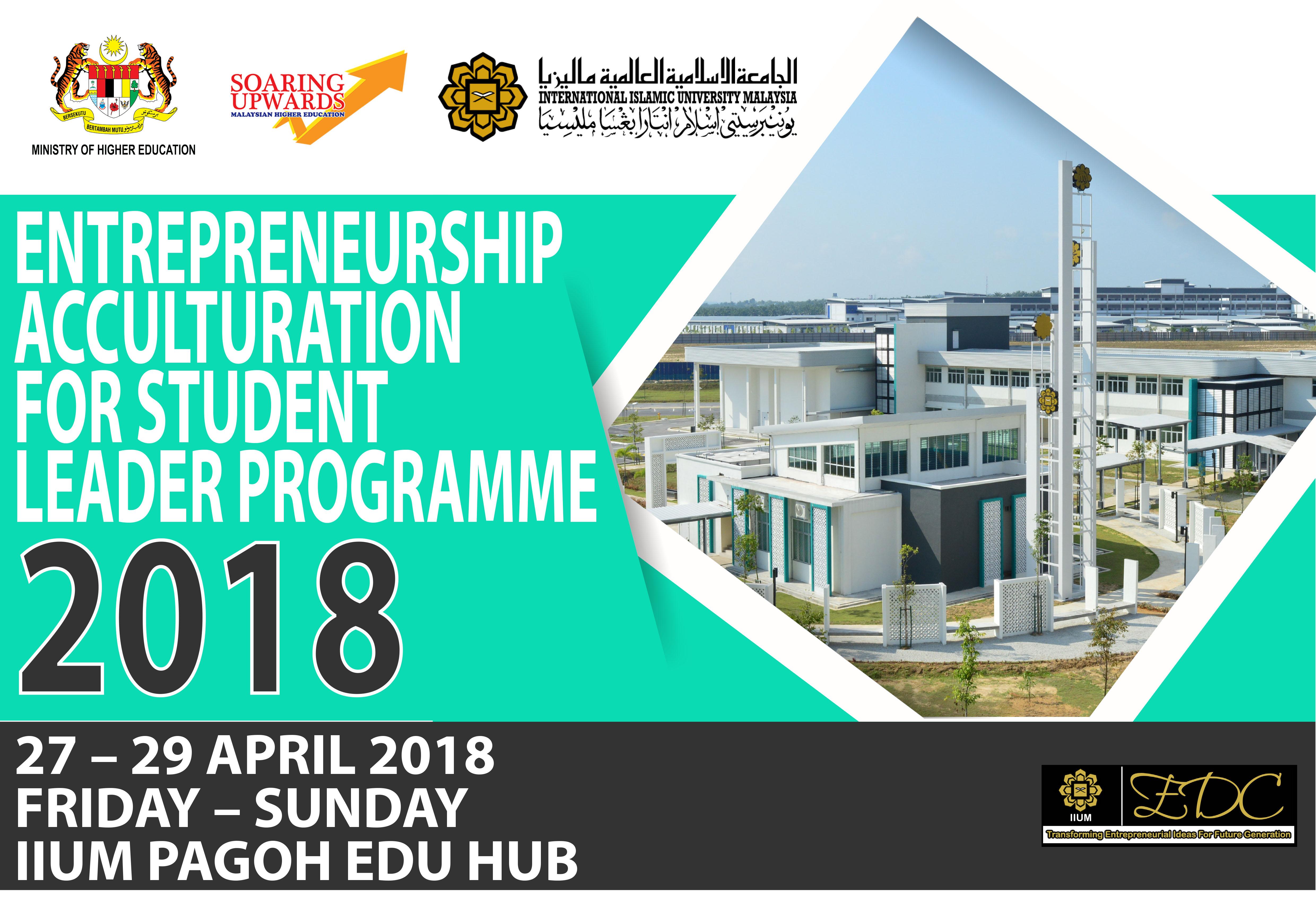 Entrepreneurship Acculturation for Student Leader