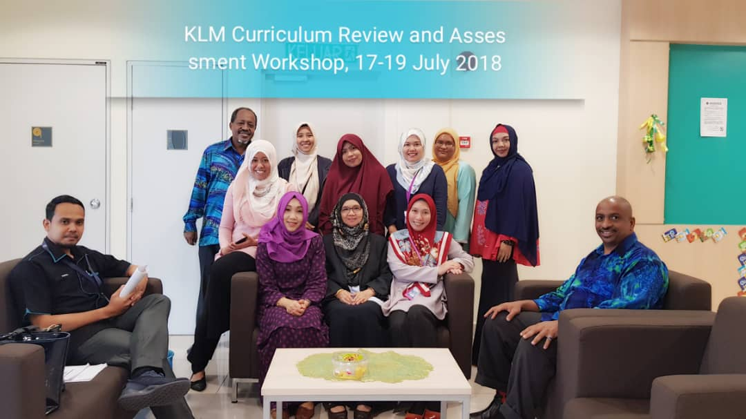 KLM Curriculum Review and Assesment Workshop