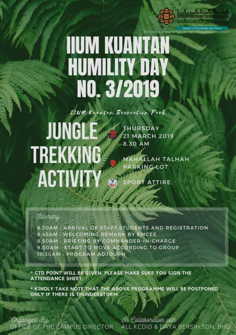 IIUM KUANTAN HUMILITY DAY...LET'S JOIN