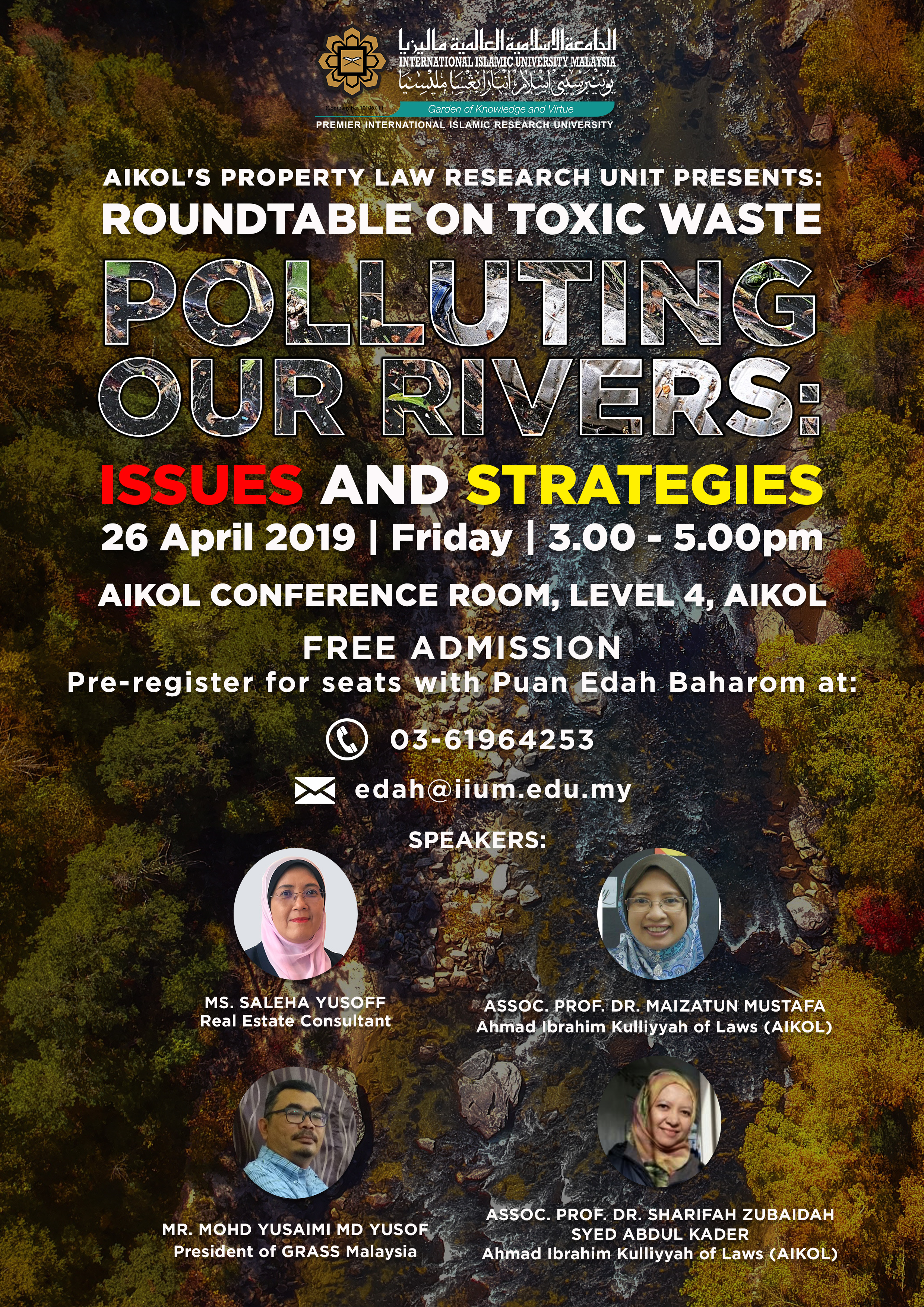 ROUNDTABLE: Polutting Our Rivers