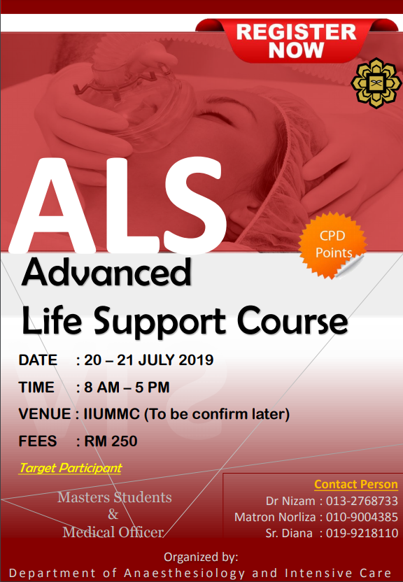 Advance Life Support Course