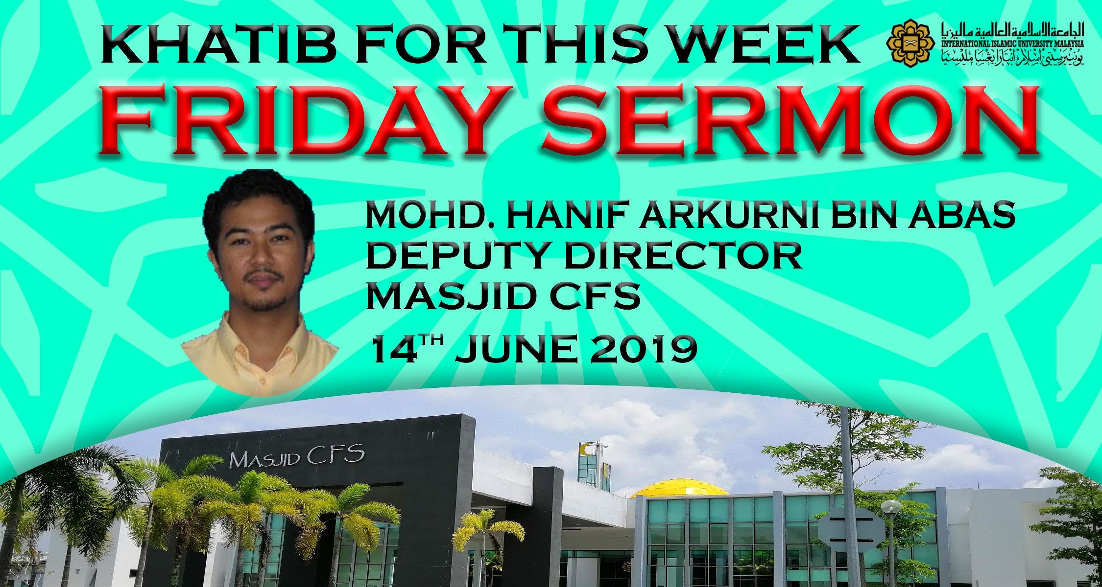 First Friday Prayer at Masjid CFS
