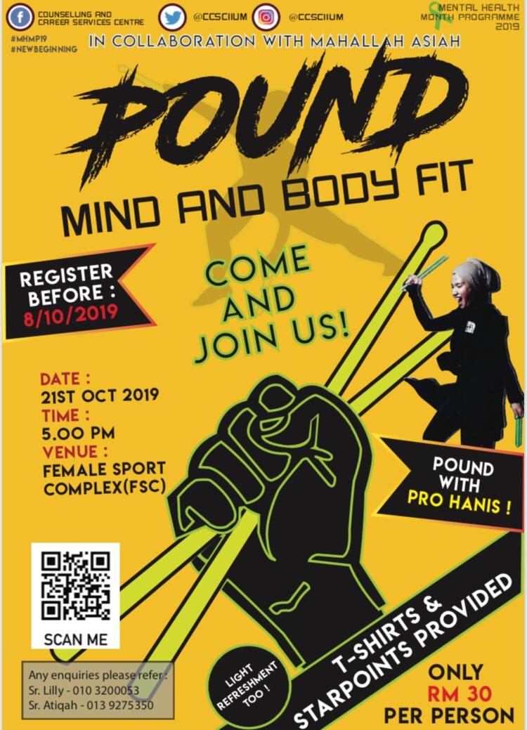 POUND : MIND AND BODY FIT