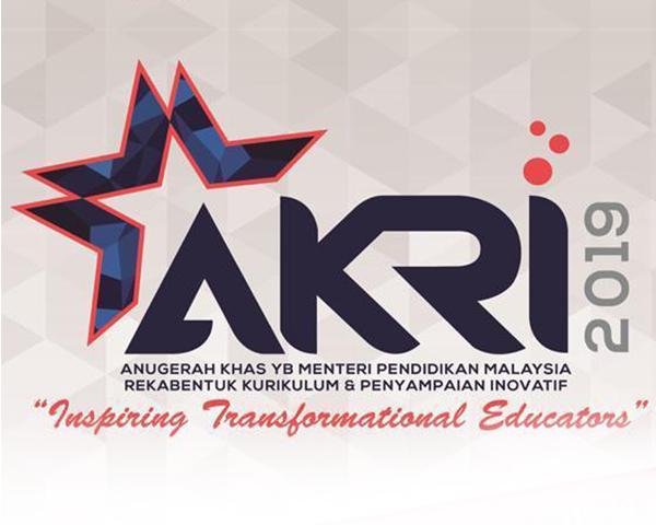 ANUGERAH KHAS MENTERI PENDIDIKAN MALAYSIA (AKRI) WORKSHOP
