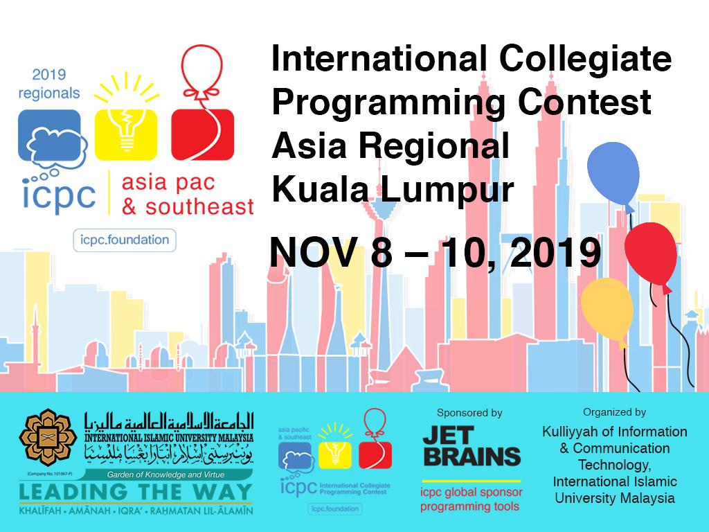 International Collegiate Programming Contest, Asia Regional
