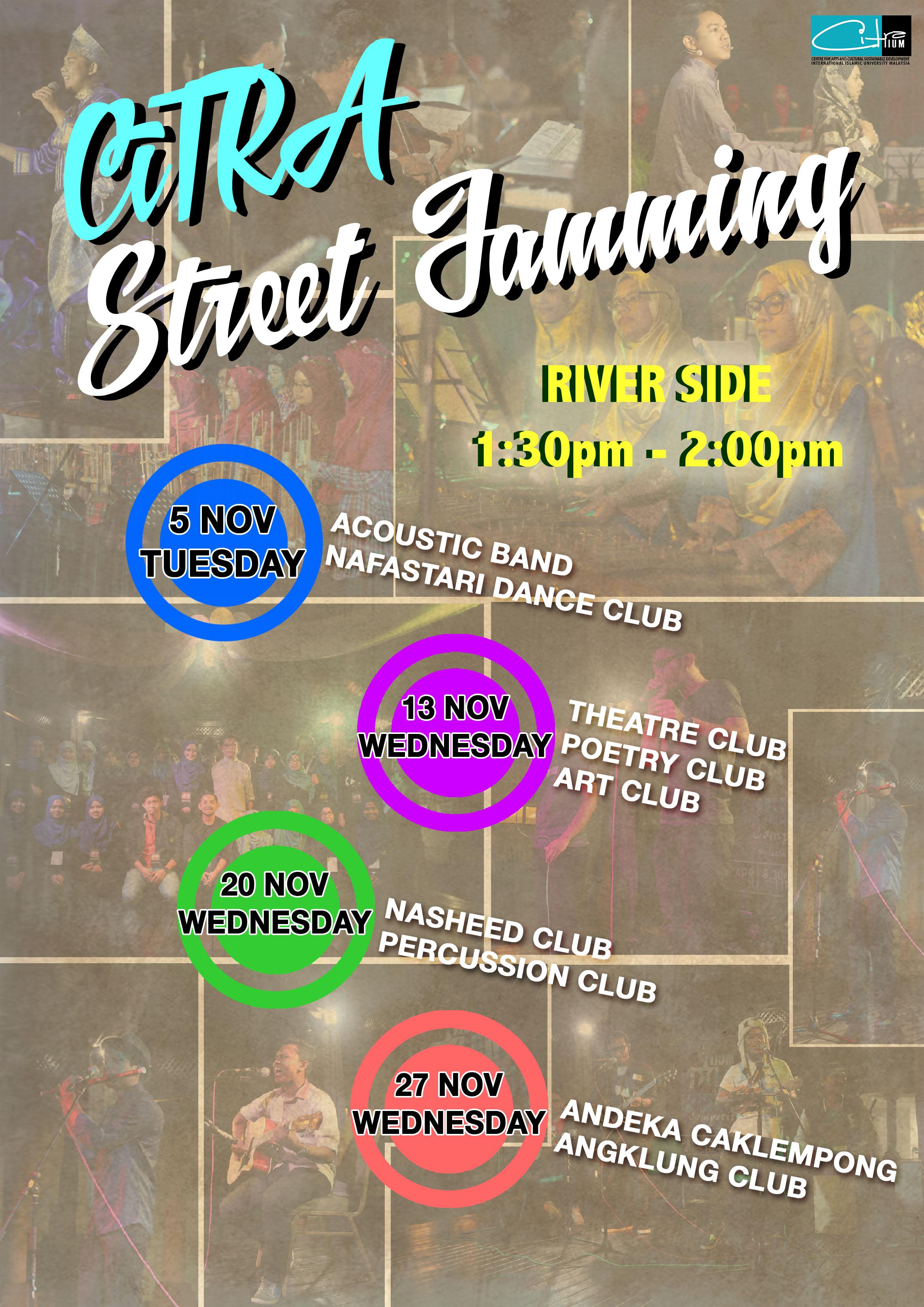 CiTRA Street Jamming
