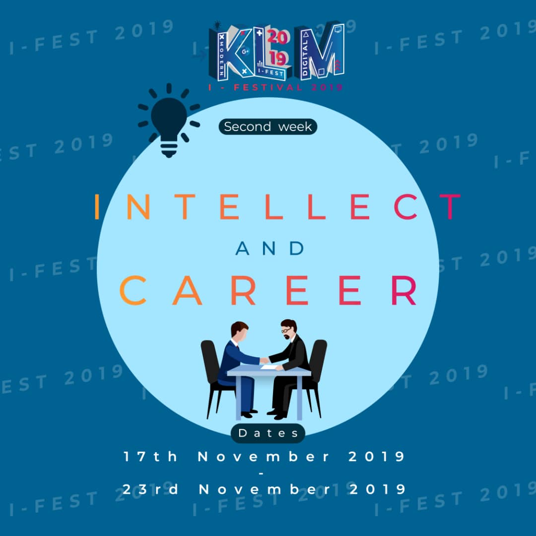 KLM I-Fest : Intellect and Career week