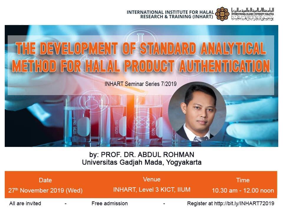 INHART Seminar Series 7/2019
