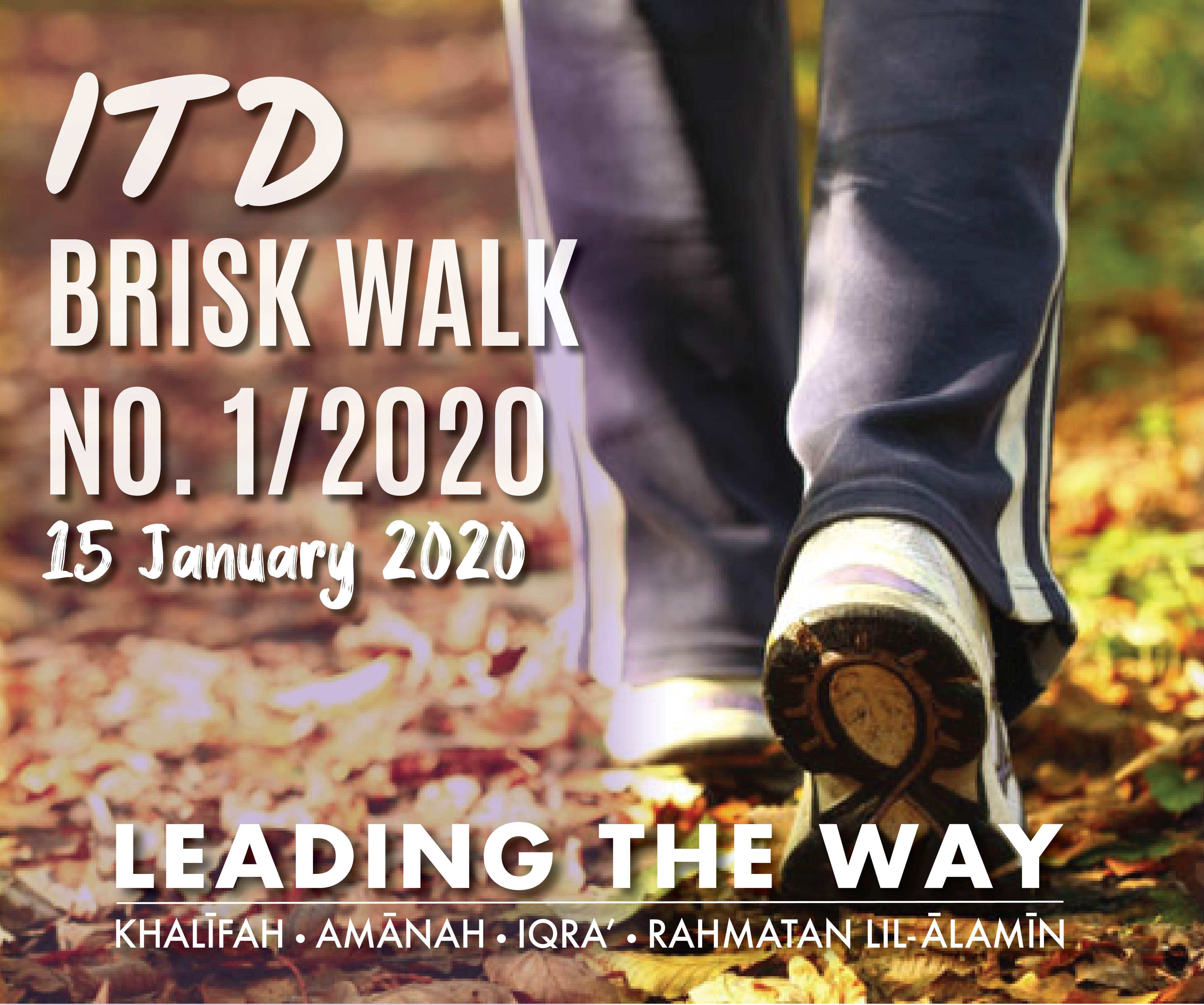ITD Brisk Walk No.1/2020