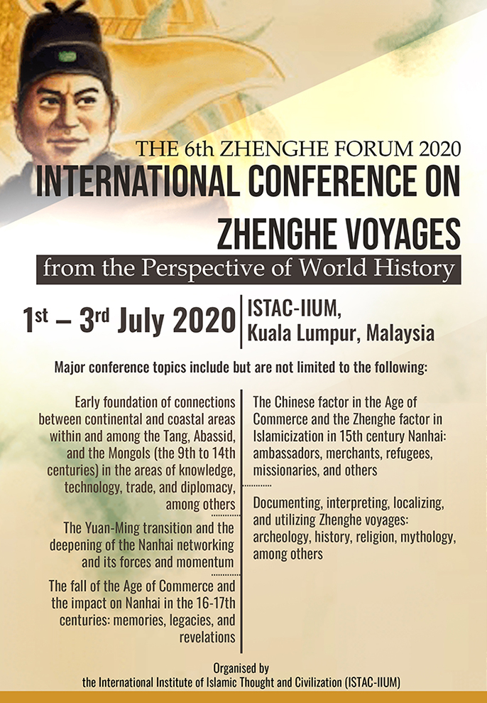 INTERNATIONAL CONFERENCE ON ZHENGHE VOYAGES FROM THE PERSPECTIVE OF WORLD HISTORY