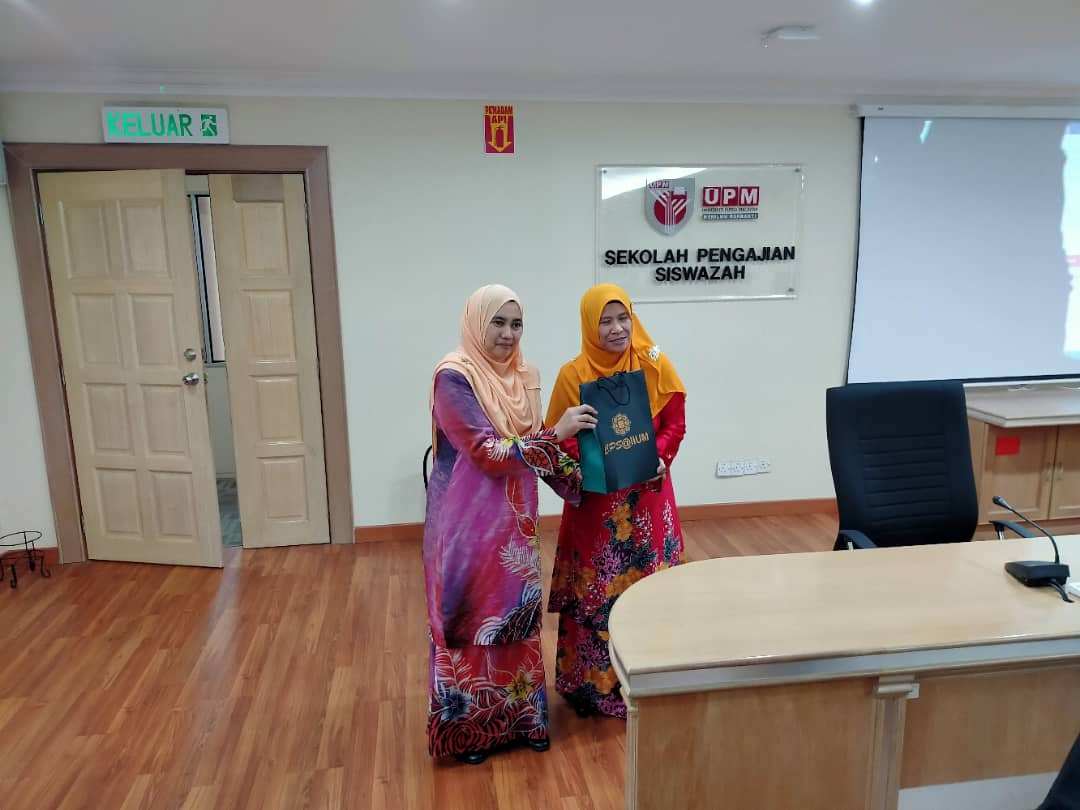 Sharing Session with University Putra Malaysia