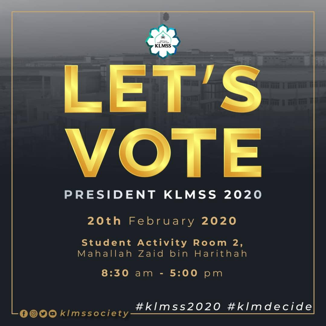KLMSS Election