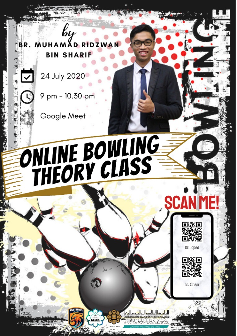 Online bowling theory class