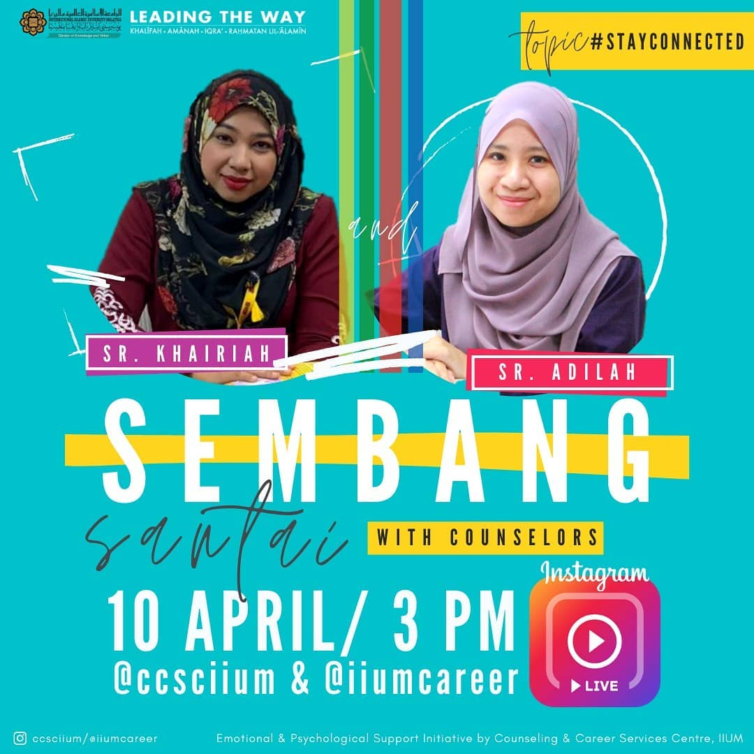 Instagram Live Session - Sembang Santai with Counselors 2