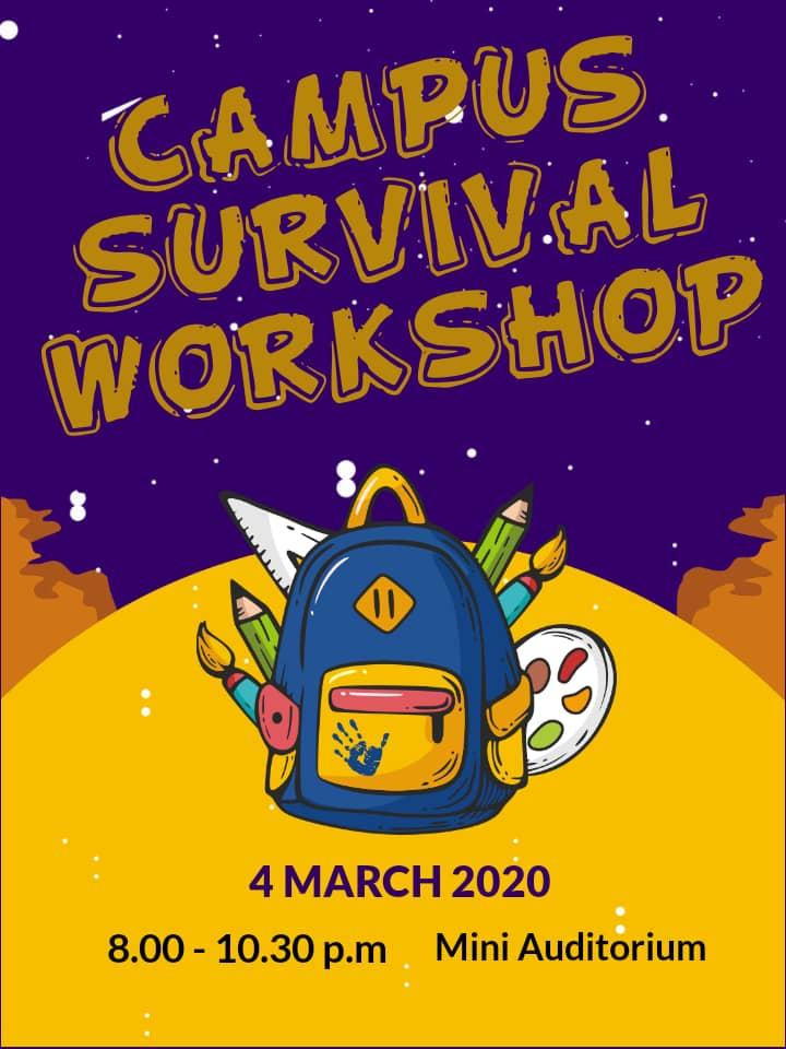 Direct Intake Program - Campus Surival Workshop
