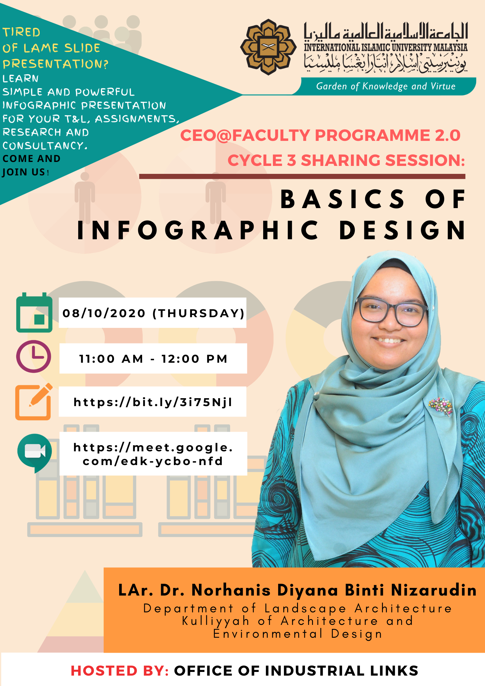 """INVITATION TO ATTEND WEBINAR SESSION ON """"CEO@FACULTY PROGRAMME 2.0 CYCLE 3 SHARING SESSION: BASICS OF INFOGRAPHIC DESIGN"""""""
