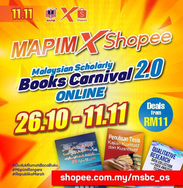 MAPIM x SHOPEE Online Book sale