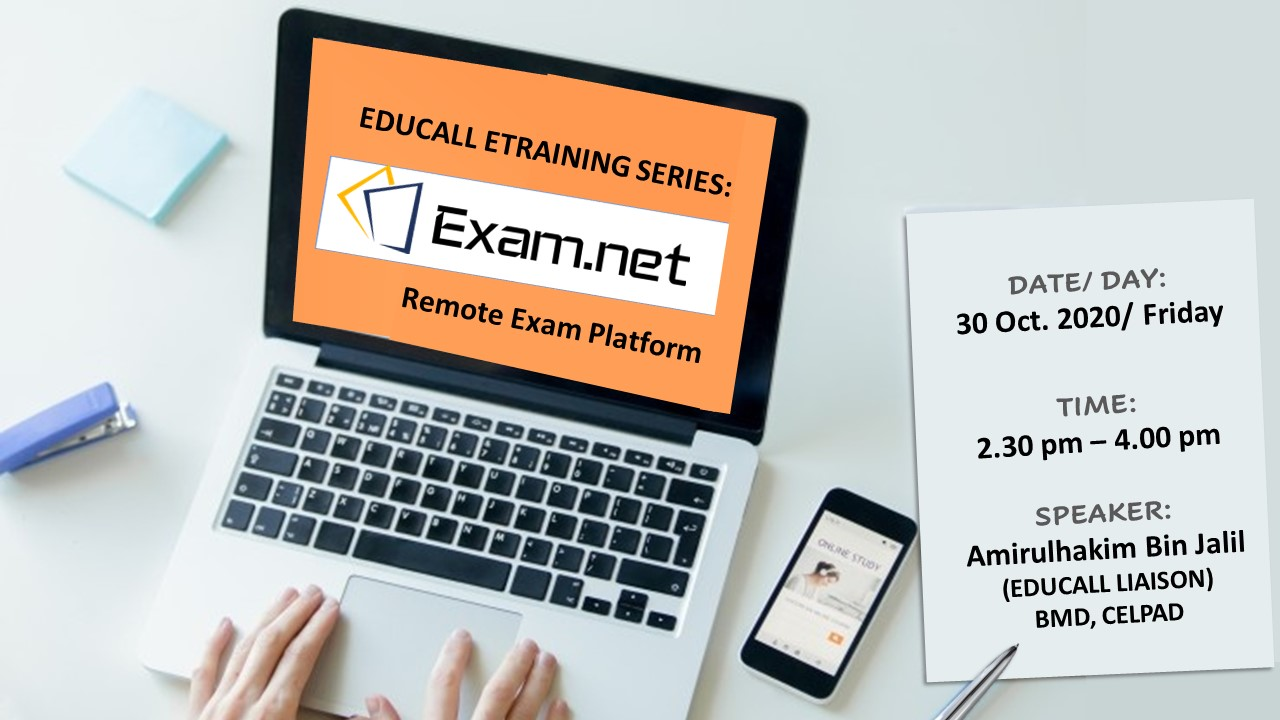 EDUCALL e-Training Series: Exam.net