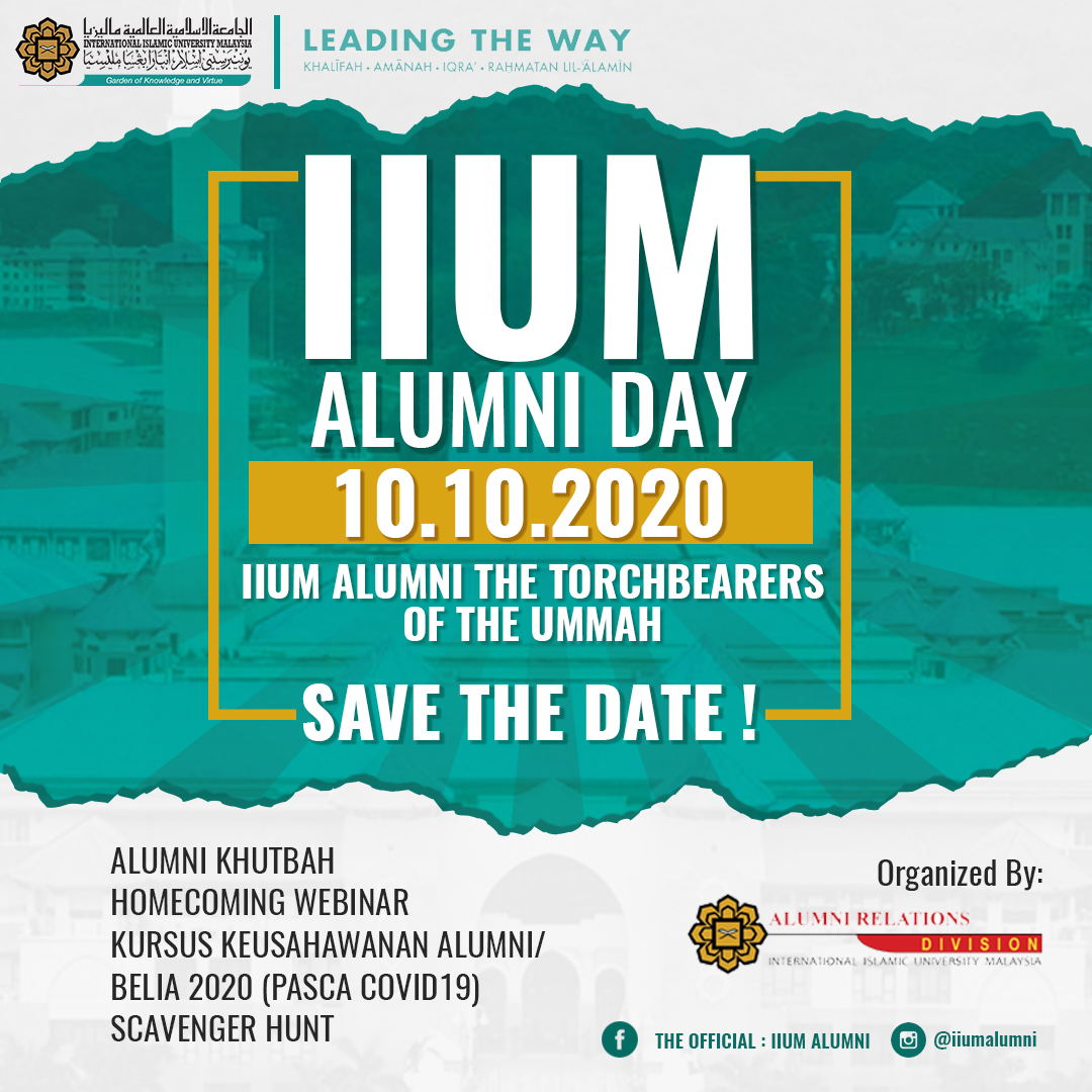 IIUM ALUMNI DAY - 10.10.2020