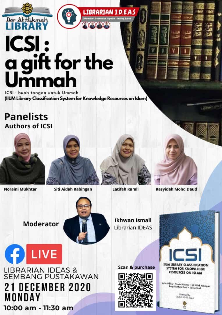 ICSI: A Gift for The Ummah