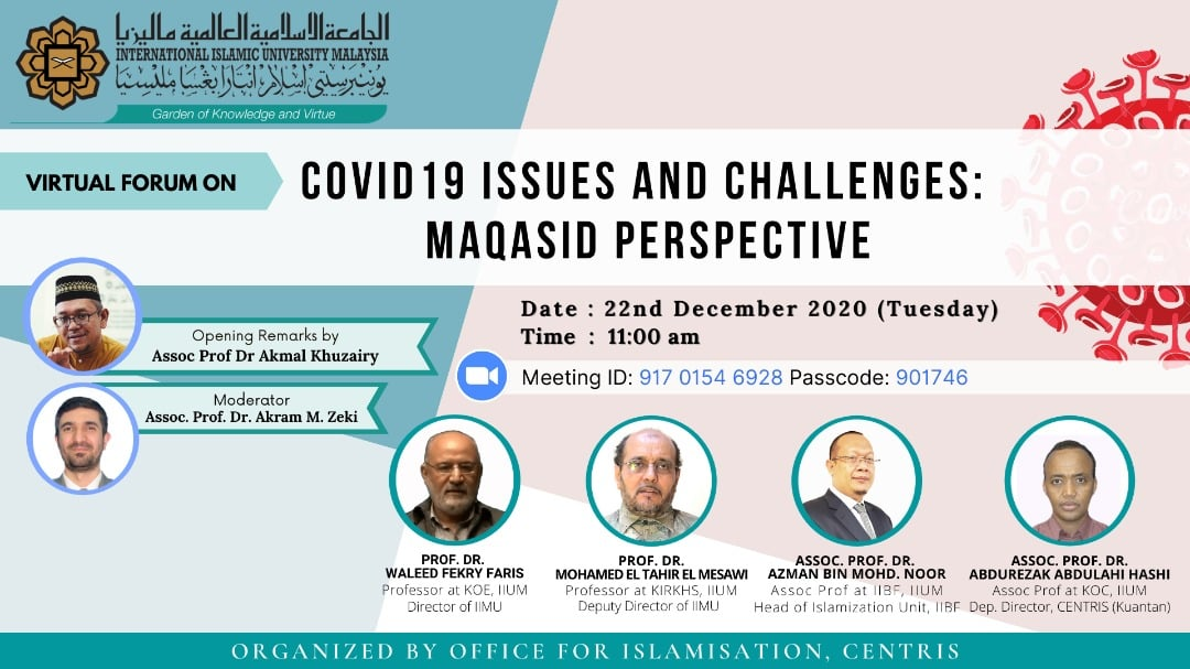 COVID-19 Issues and Challenges: Maqasid Perspective