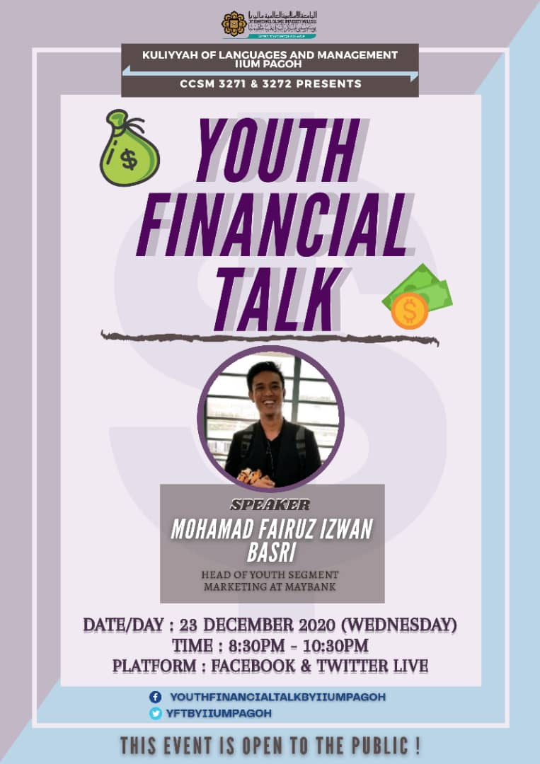 Youth Financial Talk