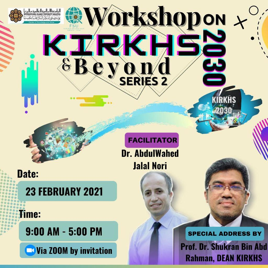 Workshop on KIRKHS 2030 & Beyond Series 2