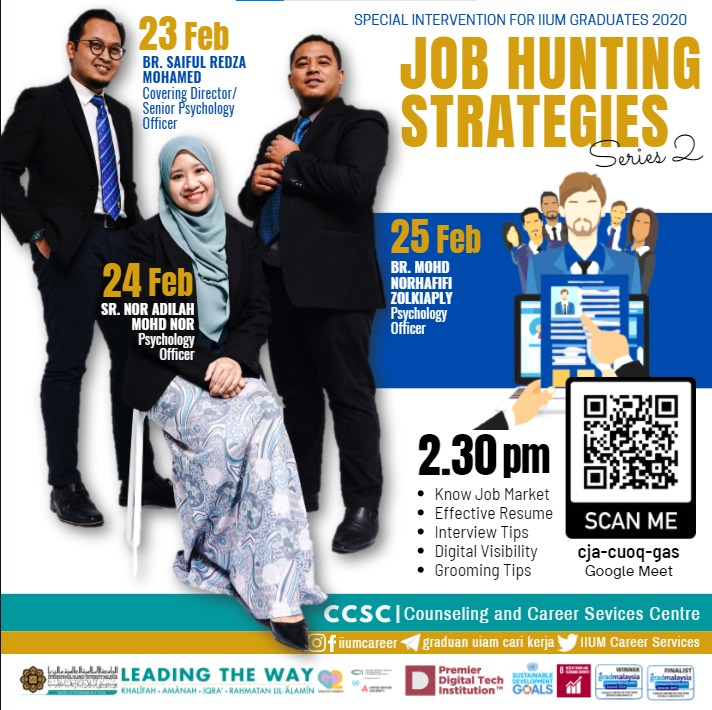 JOB HUNTING STRATEGIES 2.0