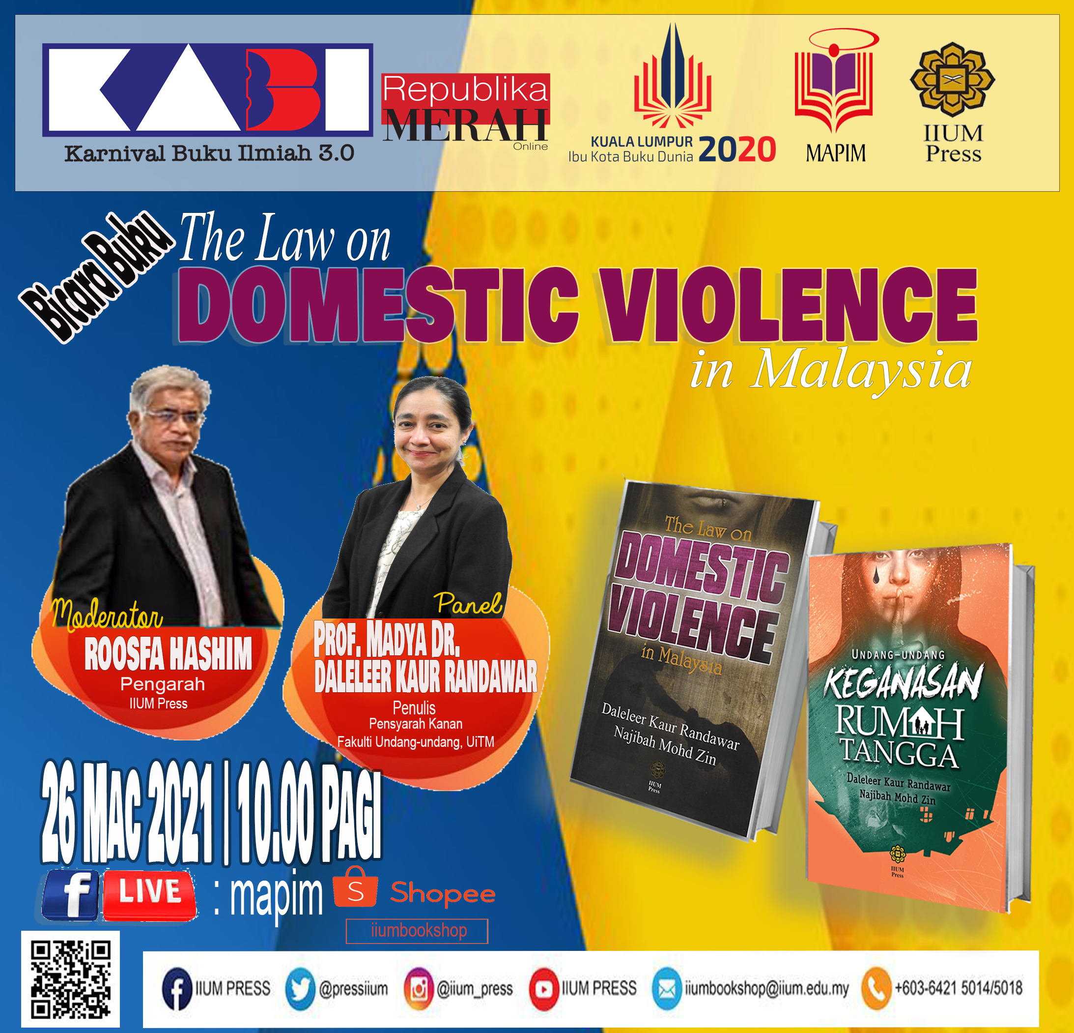BOOK TALK: The Law on Domestic Violence in Malaysia