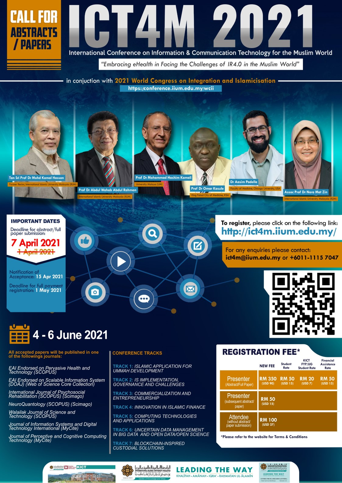 ICT4M 2021 - The 8th International Conference on Information & Communication Technology for the Muslim World
