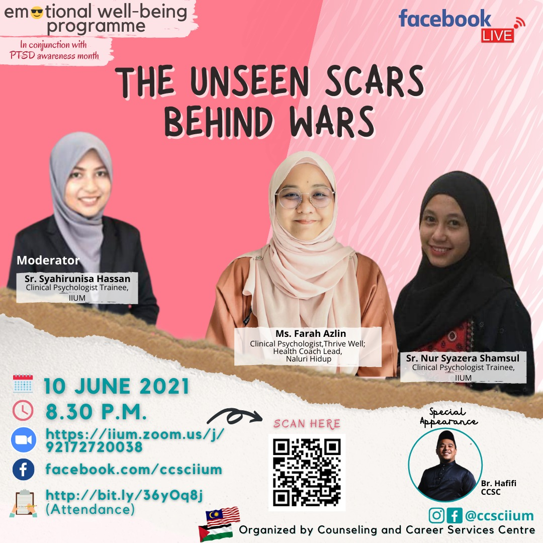 EMOTIONAL WELL-BEING PROGRAM: THE UNSEEN SCARS BEHIND WARS