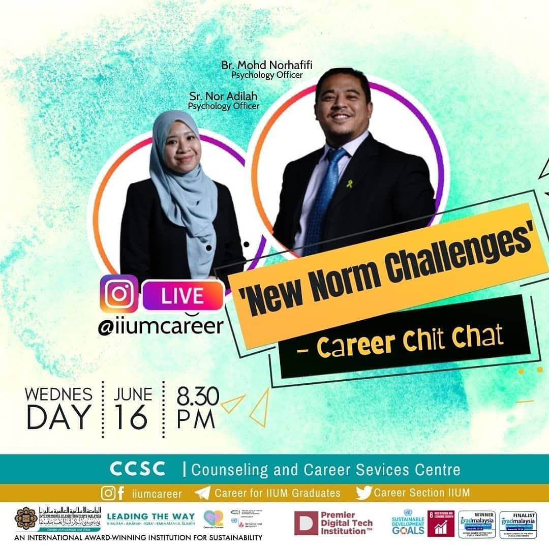 Career Chit-Chat 1/2021: New Norm Challenges
