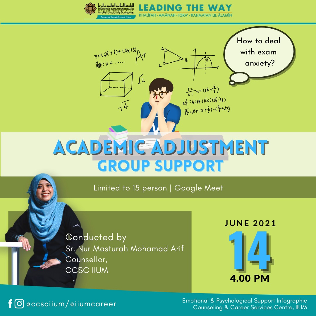 ACADEMIC ADJUSTMENT GROUP SUPPORT