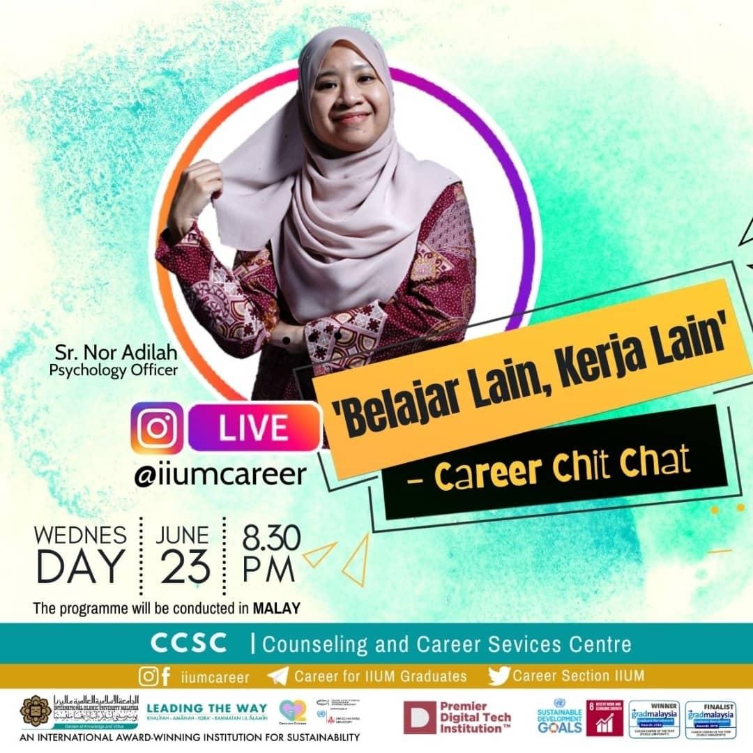 """Career Chit-Chat 4/2021: """"Belajar Lain, Kerja Lain"""""""