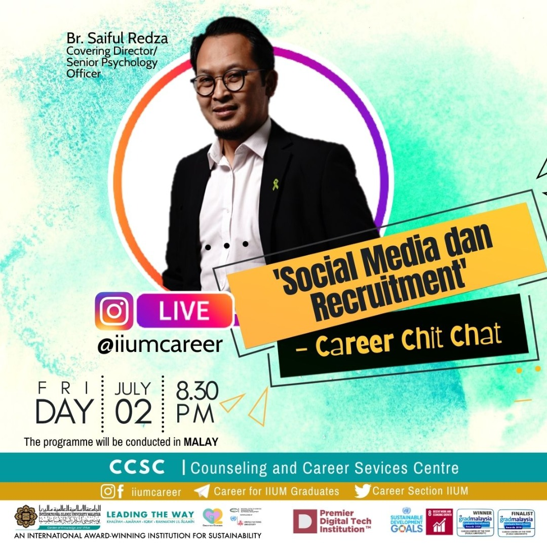 """Career Chit-Chat 8/2021: """"Social Media and Recruitment"""""""